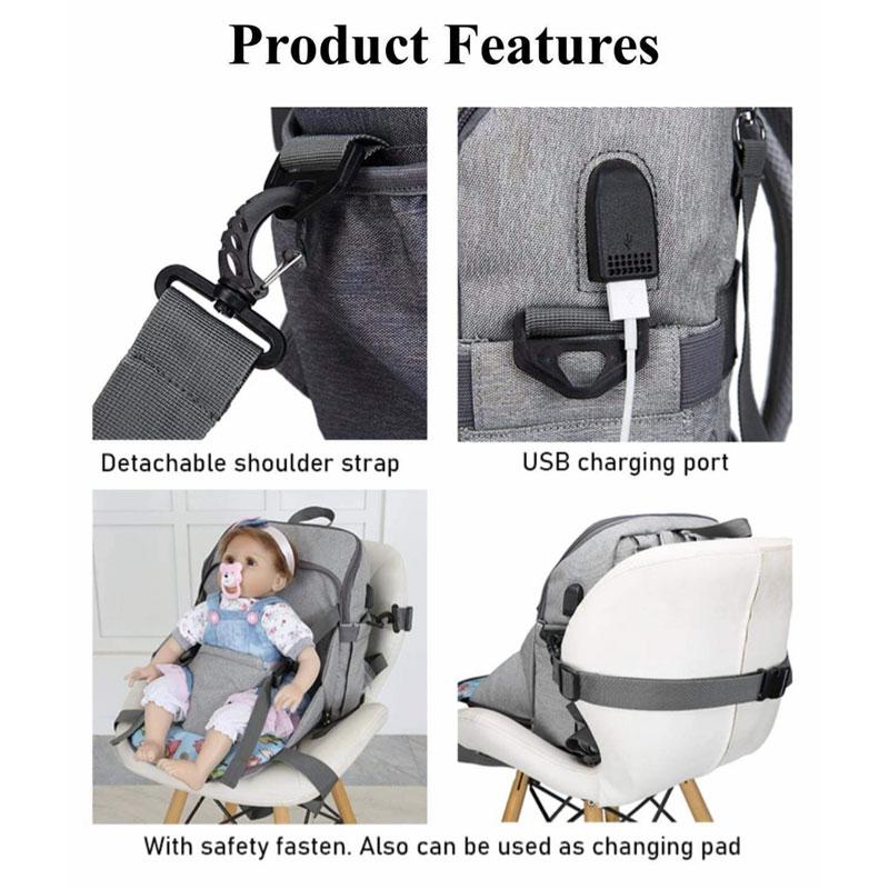 Highchair Diaper Bag